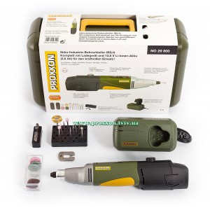 Набор с аккумуляторной бормашиной  IBS/A